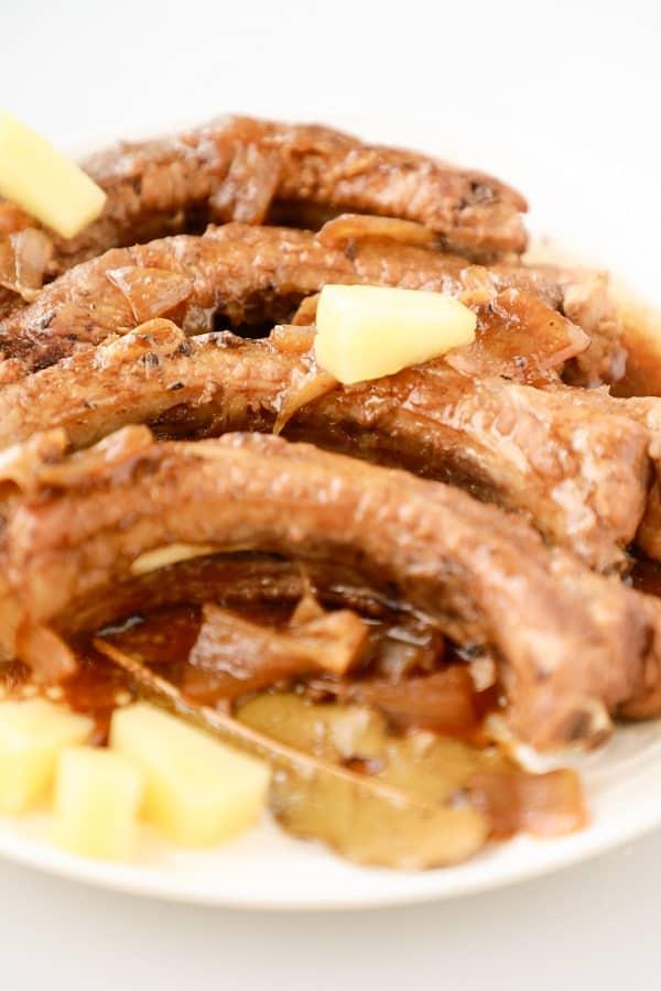 adobo pork ribs recipe