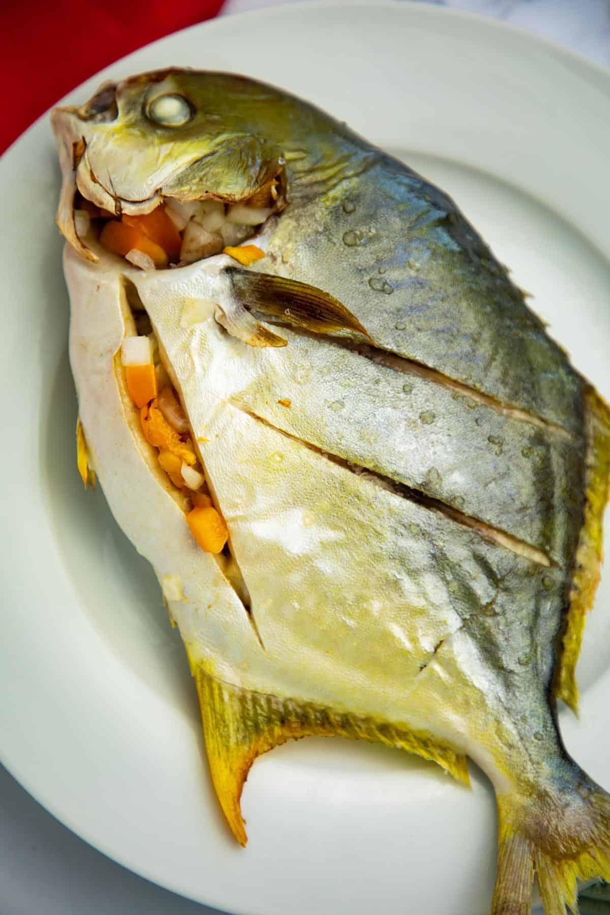 Baked Pompano Fish Seaside Recipes