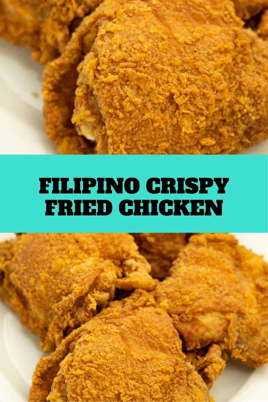 Filipino Crispy Fried Chicken